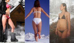 Bikini Poll of the Week: Girls in Snow