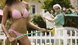 Bikini Poll of the Week: Girls with Hoses