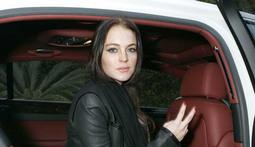 Lindsay Lohan's Car Trouble