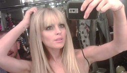 Lindsay Lohan's Topless Twitter
