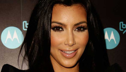 Kim Kardashian in Hot Water for Manhandling Cat