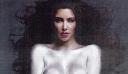 Kim Kardashian Poses Naked... Again