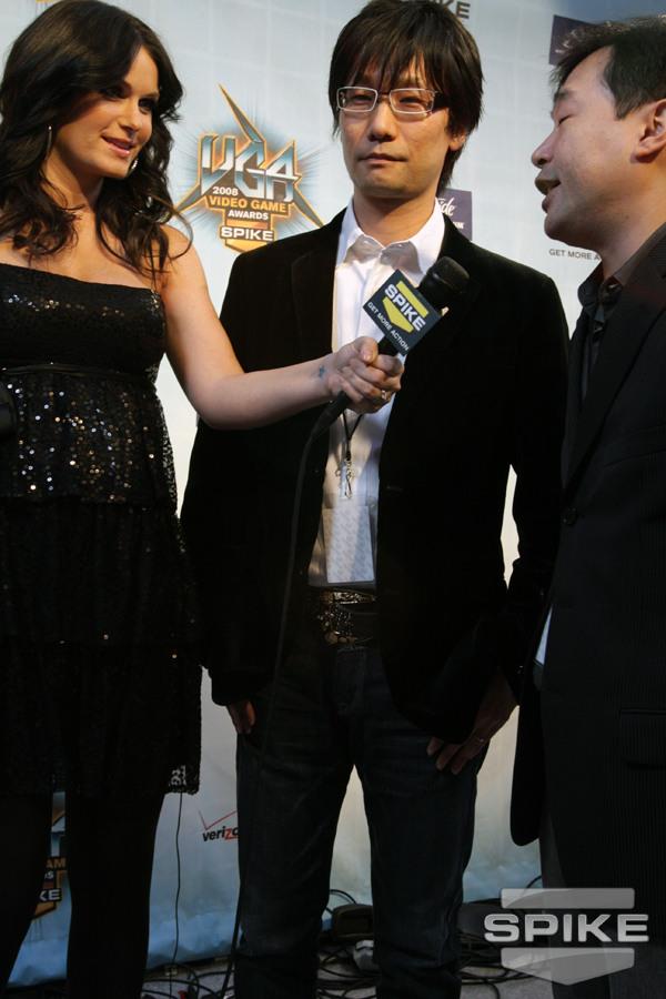 2008 Video Game Awards Red Carpet