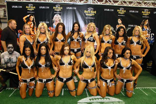The Launch of the VII LFL Lingerie Bowl