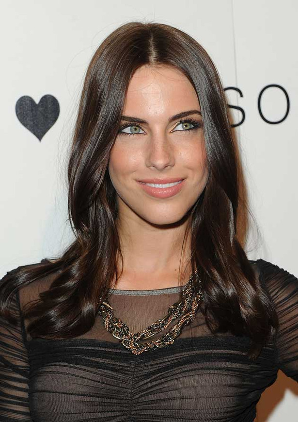 Jessica Lowndes Wears a See-Through Dress