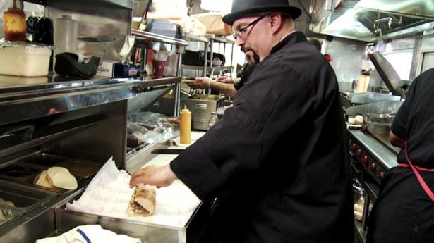 Food Dude On the Road: Pork Italian Sandwich