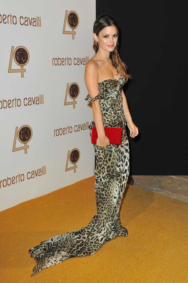Rachel Bilson Gets Wild in Sexy Leopard Print Dress