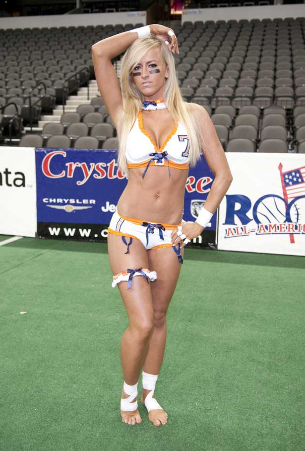 The Ladies of the Lingerie Football League Get Naked