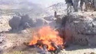 Burning Taliban Corpses