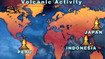 Volcanoes Threaten Peru and Japan