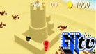 Sandy Beach - Castle-Building Gameplay