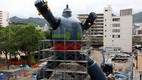 Gigantor Robot Being Built in Kobe, Japan
