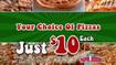 Papa John's - $10 Pizza