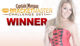 Captain Morgan BracketMaster Challenge - Winner Revealed!