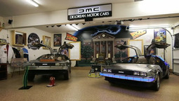 "Kickstarting the DeLorean from ""Back to the Future"""