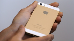 Apple Unveils the Golden iPhone and the World's First 64-Bit Smartphone Processor