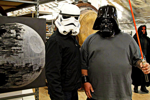 Auction Hunters Open Up The Star Wars Archives