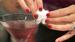 The Cotton Candy Cosmo