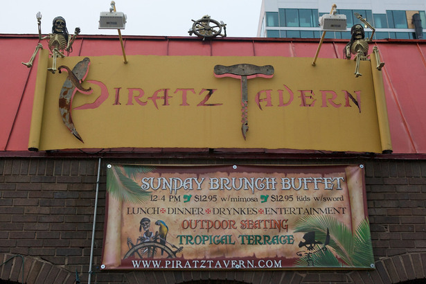Piratz Tavern: Before & After