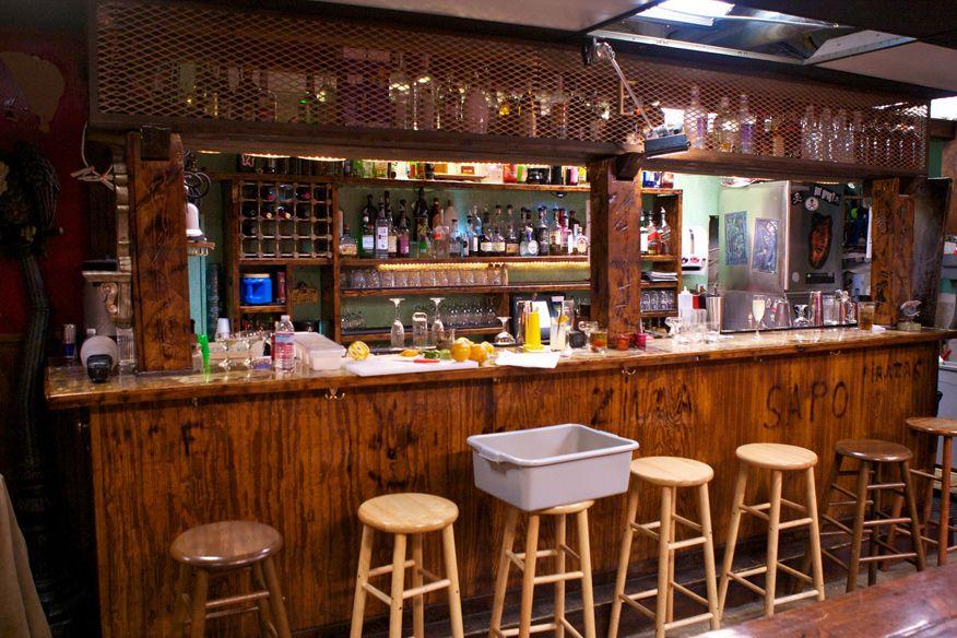 Piratz tavern before after bar rescue - Back bar ideas ...