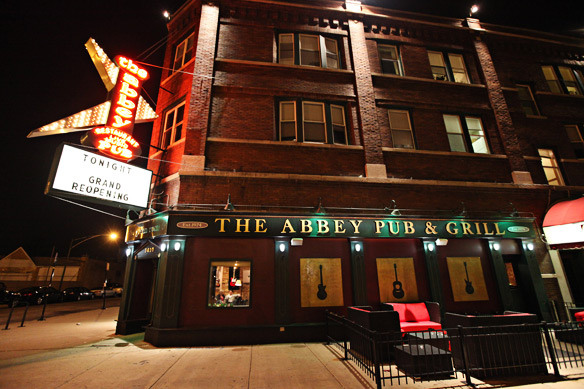The Abbey Pub: Before & After