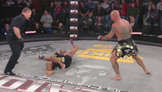 Doug Marshall Knocks Out Kala Hose With The Left - Bellator 82 Moment