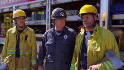 Randy Couture & Royce Gracie train w/ the San Jose Fire Department