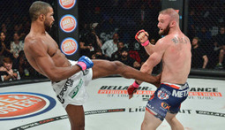 Rafael Carvalho Liver Kicks Brandon Hasley - The Bellator 144 Moment