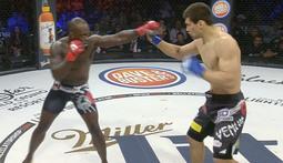 Melvin Manhoef Flattens Hisaki Kato - The Bellator 146 Moment