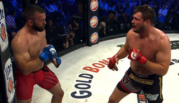 Matt Mitrione vs. Oli Thompson