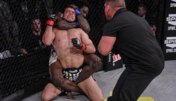 Daniel Straus vs. Alvin Robinson Full Fight
