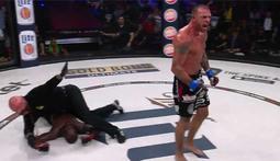 Bellator 131 Moment: Joe Schilling Knocks Out Melvin Manhoef