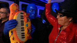 """Let's Get Physical"" With Blue Man Group"