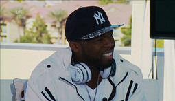 "Jammin' With ""Street"" And ""Sync"" - 50 Cent's New Headphones"