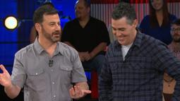 What Happened In Jimmy Kimmel's Backyard?