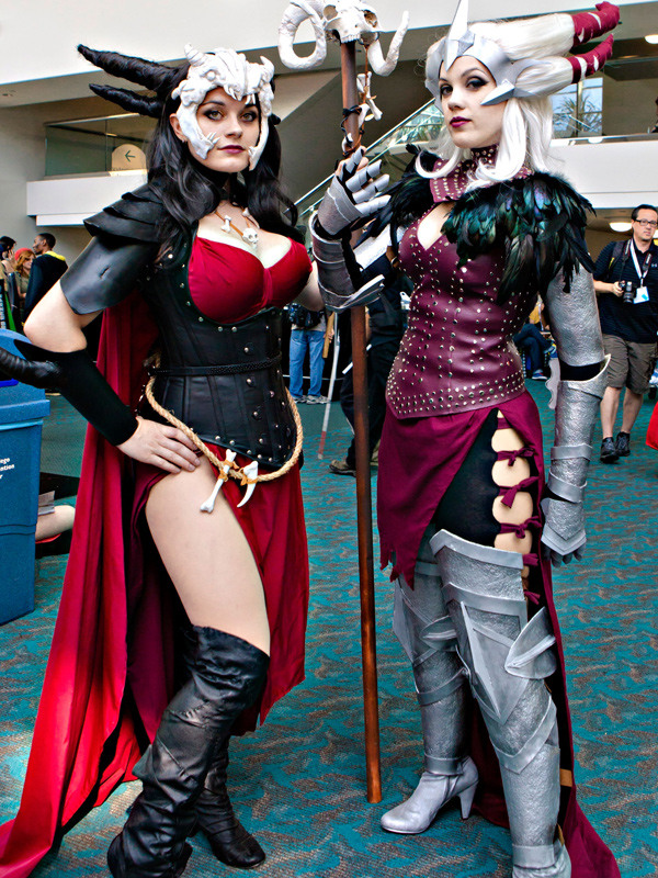 Cosplay Girls Of Comic Con 2013