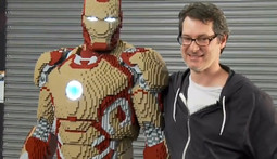 Comic Con To Feature Life-Size Lego Marvel Iron Man