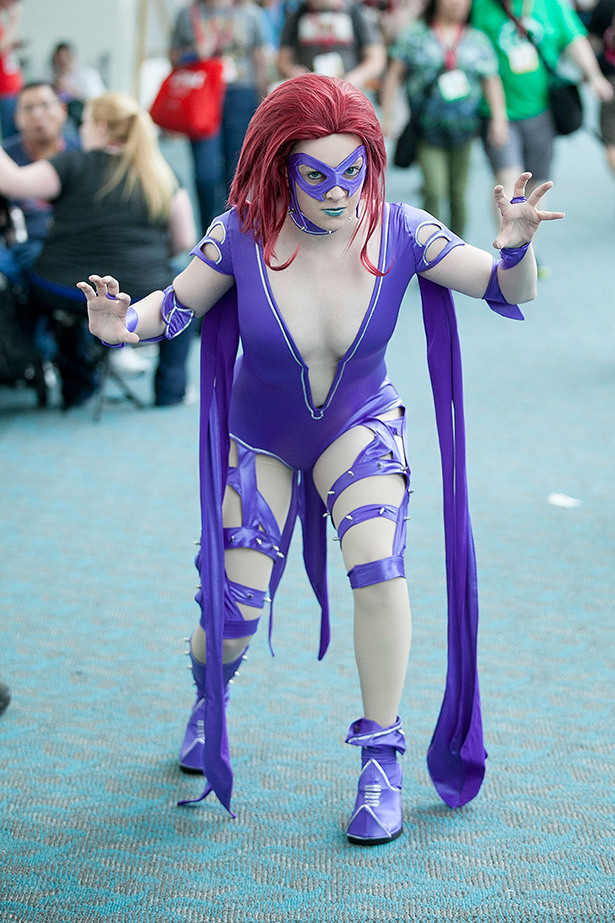 Cosplay Girls Of Comic-Con 2014