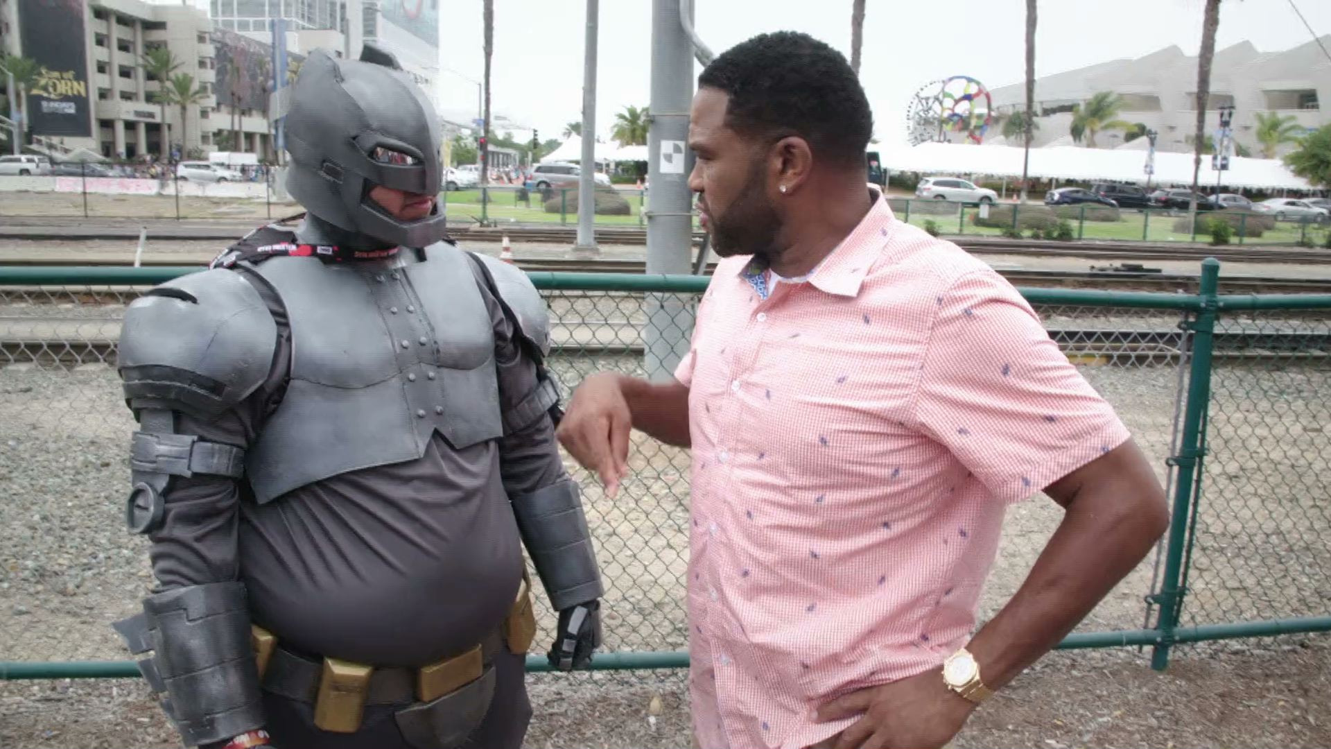 Anthony Anderson: Lost at Comic-Con