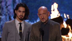 Sir Ben Kingsley & Avan Jogia Present Biggest Ass Kicker Award