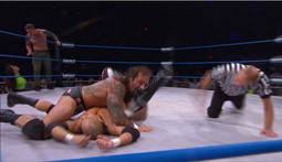 Tag Team Tournament Match: Low Ki & Samoa Joe vs Gunner & Samuel Shaw