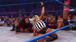IMPACT WRESTLING Feature Match: Tara & Gail Kim vs. Miss Tessmacher & Mickie James