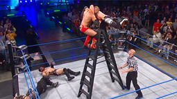Ladder Match: AJ Styles vs. Austin Aries vs. Jeff Hardy vs. Kazarian