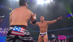 Tag Team Championship: Jessie Godderz & DJ Z Vs. The Wolves