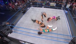 Knockouts #1 Contender 3-Way Match