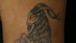 Frank McManus Inks A Stunning Capricorn Tattoo
