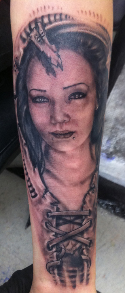 "Artist Portfolio: Jackie ""Ink Bitch"" Jennings"