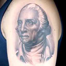 Elimination Tattoo: Political Portraits (Black & Grey)