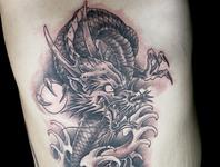 Elimination Tattoo: Japanese Dragons