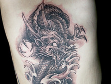 Elimination Tattoo: Japanese Dragons